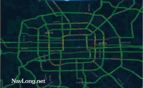 输入坐标定位地图